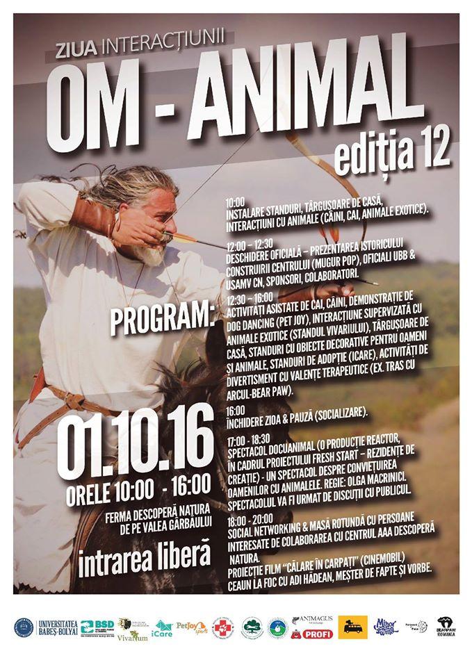 Începutul de octombrie aduce la Cluj o nouă ediție a Zilei Interacțiunii Om-Animal – VEZI programul și unde va avea loc