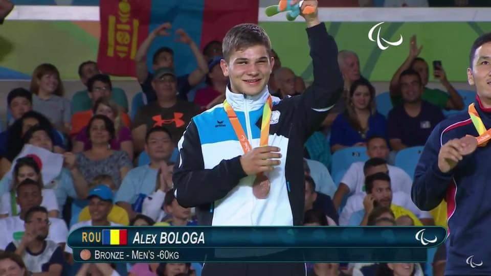 Clujeanul Alex Bologa, legitimat la Clubul Lamont Cluj, aduce prima medalie Romaniei la Jocurile Paralimpice de vara de la Rio de Janeiro