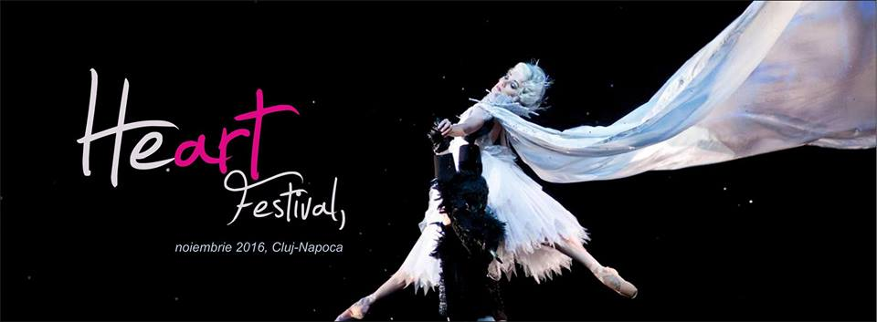 Luna noiembrie aduce un festival atipic la Cluj-Napoca – Heart Festival – 12-13 noiembrie 2016, Casa de Cultură a Studenților