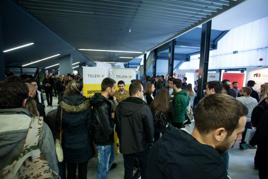 Programări contra-cronometru, 10 ore de recrutări intense și peste 2.500 de  IT-iști, la Târgul de Cariere în IT de la Cluj