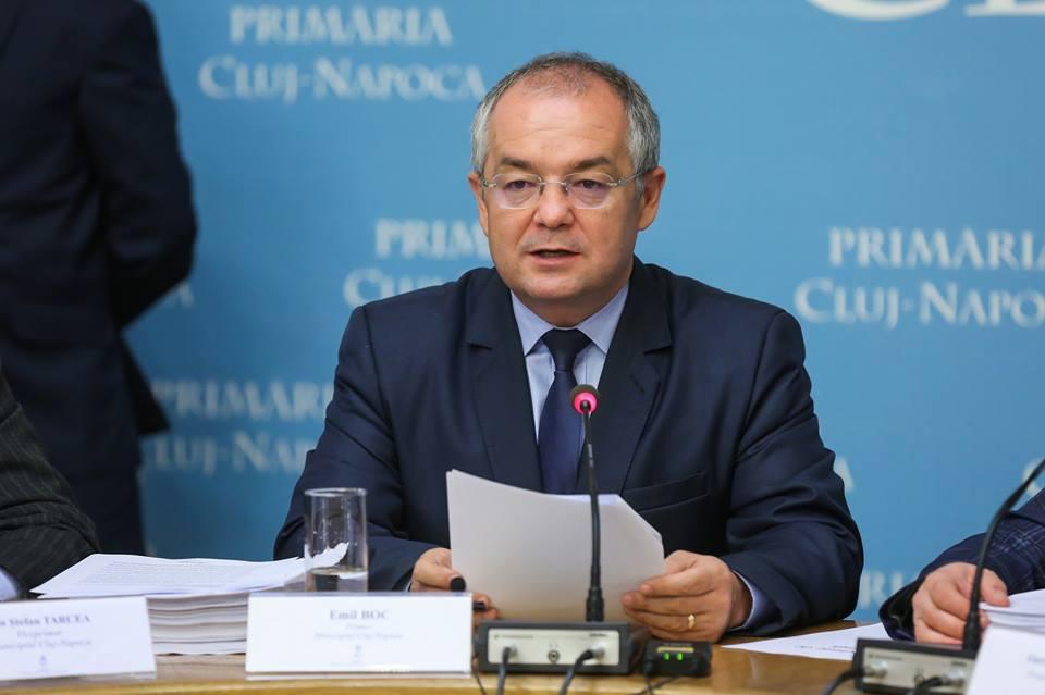 Emil Boc speră ca parlamentarii clujeni să nu uite de proiectele majore ale Clujului
