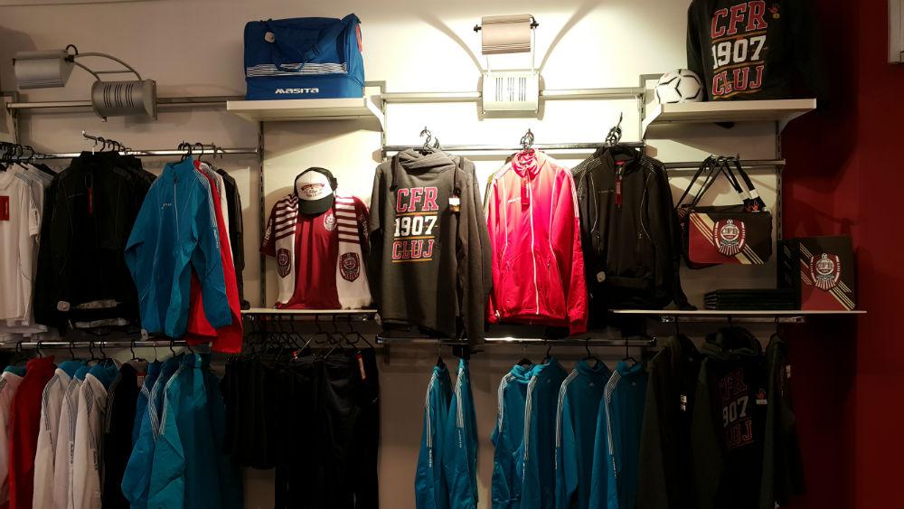 S-a deschis noul Fan Shop al CFR-ului la stadionul din Gruia! Fanii sunt așteptați luni la noul magazin