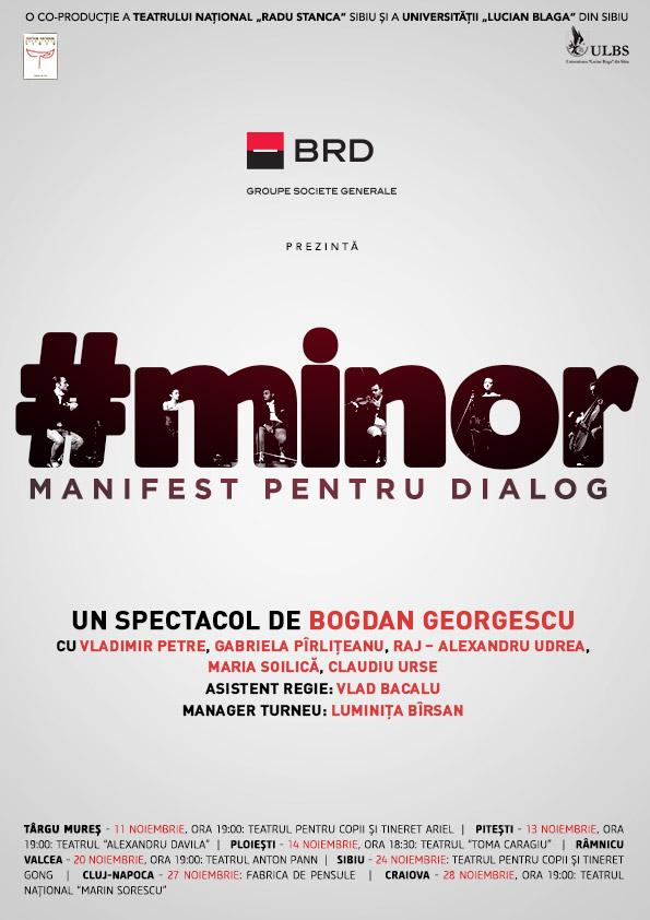 """BRD prezintă turneul de teatru """"Manifest pentru dialog"""", despre educația în familie! Când ajunge și la Cluj"""