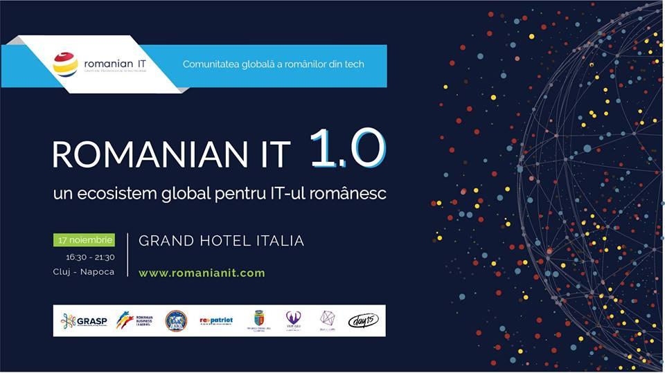 Întâlnirea IT-știlor români din diaspora la Cluj-Napoca