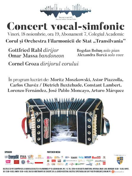 "Siesta la Filarmonica ""Transilvania"" – Concert vocal-simfonic sub bagheta dirijorului Gottfried Rabl"
