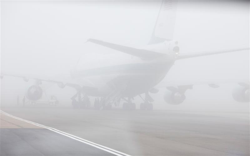 Patru curse aeriene afectate de ceaţă pe Aeroportul Internațional Cluj, trei au întârzieri