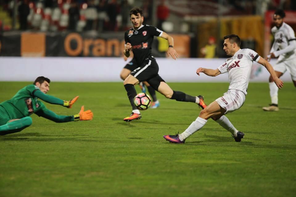 CFR Cluj, victorie cu Dinamo București! Trupa lui Miriuță a urcat pe locul 5