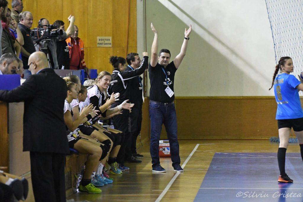 Florentin Pera așteaptă cât mai mulți fani la sală pentru meciul de sâmbătă cu Bistrița
