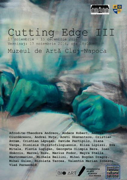 """Vernisajul expoziției """"Cutting Edge"""", joi, la Muzeul de Artă din Cluj"""