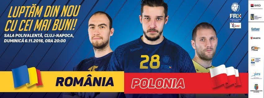 Programul caselor de bilete de la Sala Polivalentă Cluj pentru meciul România – Polonia la handbal masculin!