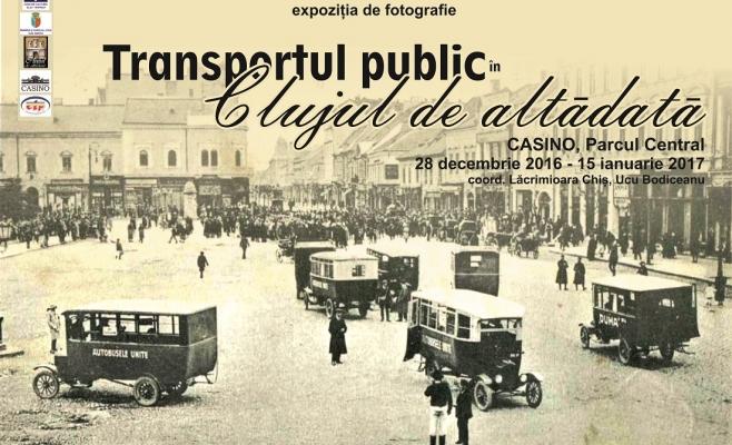 Transportul public de altădată, într-o expoziție la Casino