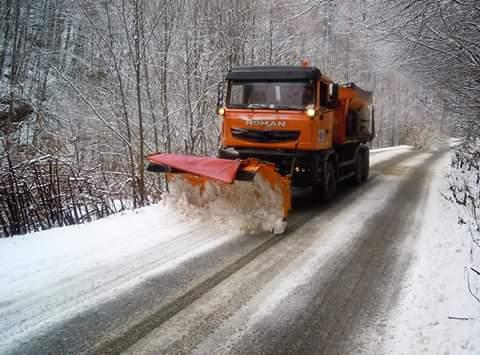 Nu se înregistrează drumuri blocate la nivelul judeţului Cluj