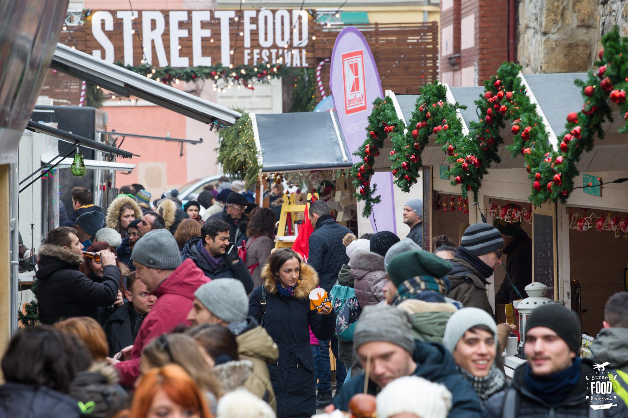 30.000 gurmanzi clujeni s-au bucurat de ediția de iarnă Street Food Festival Christmas Goodies