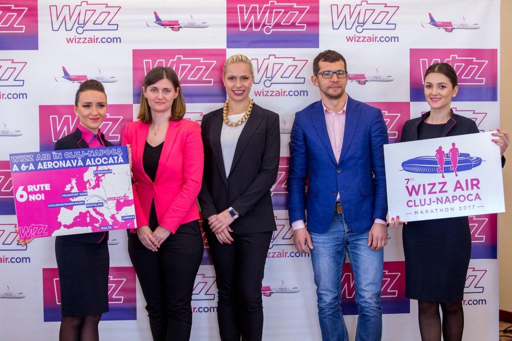 Wizz Air, noul partener principal al Maratonului Internațional Cluj-Napoca 2017