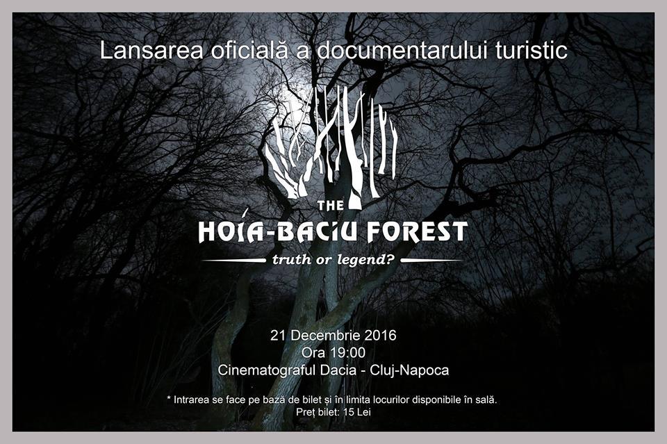 Se lansează documentarul despre pădurea Hoia-Baciu, în 21 decembrie, la Cinema Dacia!