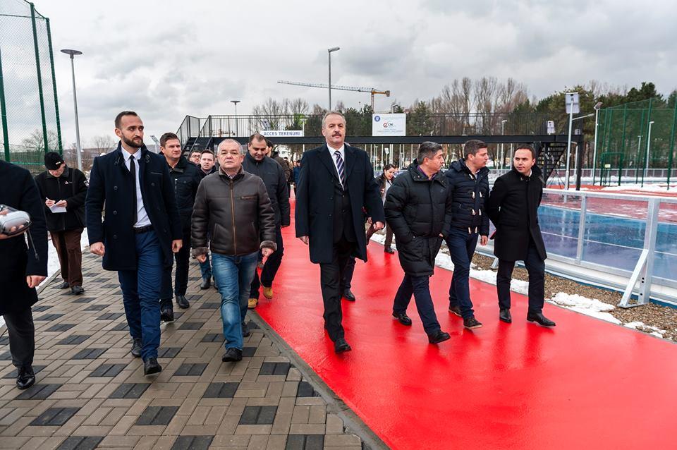 Cea mai modernă bază sportivă din România, inaugurată vineri în prezenţa primarului Emil Boc şi a vicepremierului Vasile Dâncu! Complexul Sportiv Gheorgheni, deschis pentru clujeni!
