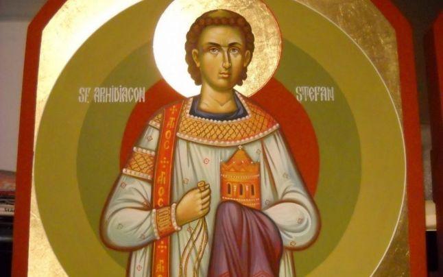 Sfântul Ştefan, ocrotitor al bolnavilor şi nedreptăţiţilor, serbat în a treia zi de Crăciun