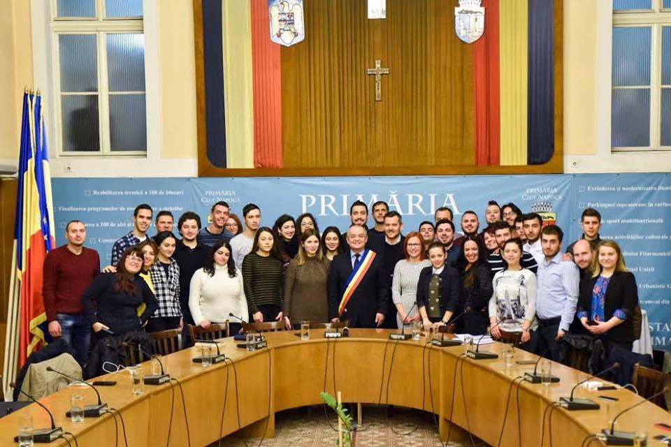 Cluj-Napoca model de bune practici în domeniul tineretului – 40 de tineri din 9 țări s-au informat despre Capitala Europeană a Tineretului