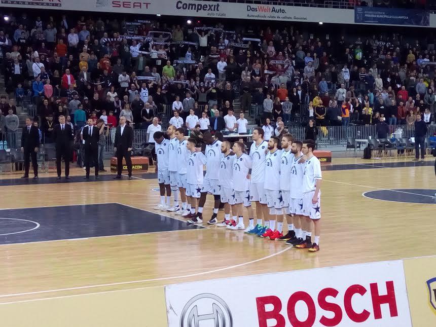 U-Banca Transilvania, prima semifinalistă a Ligii Naționale de baschet masculin