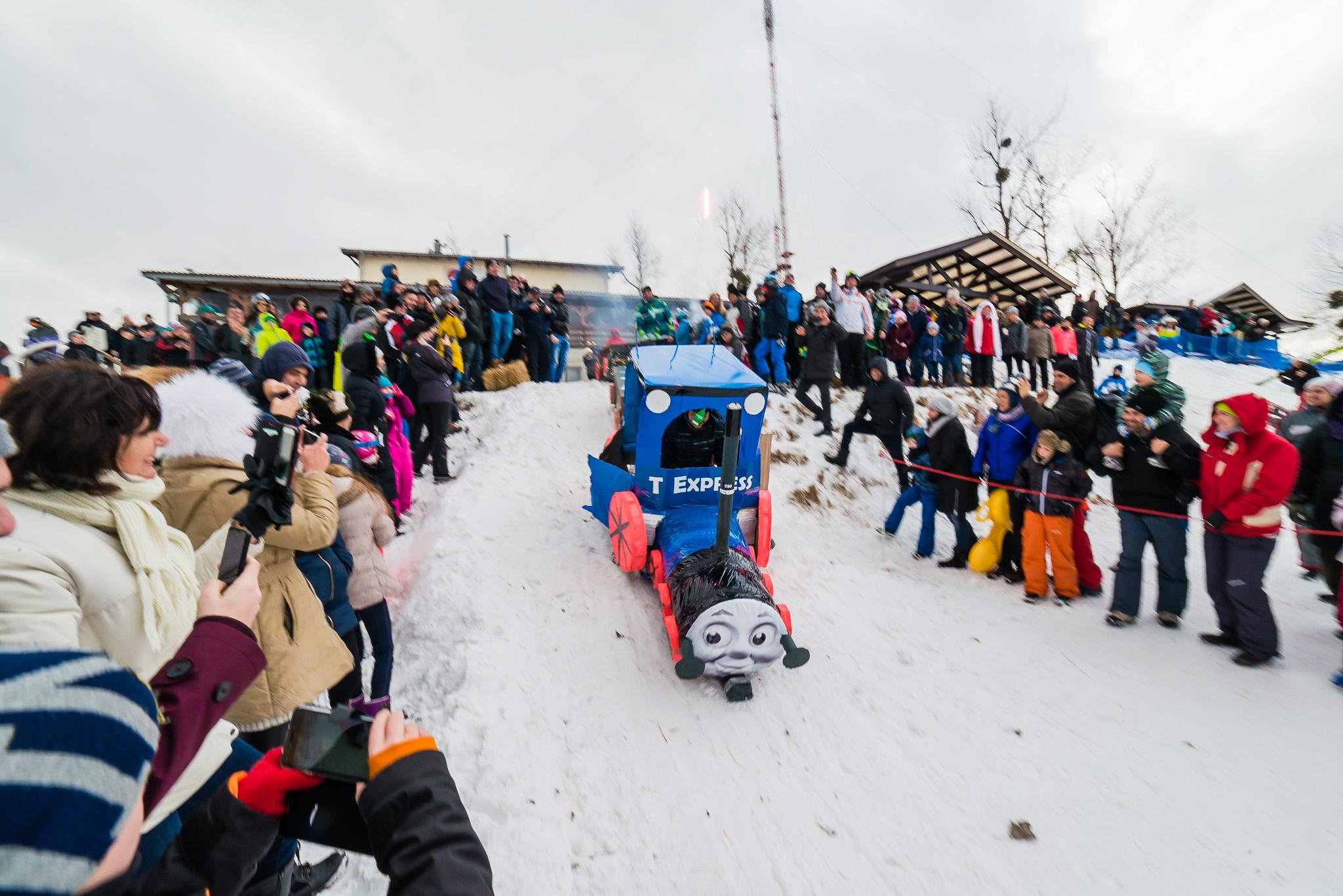 Cum a fost la prima ediție Feleacu Winter Games – FOTO