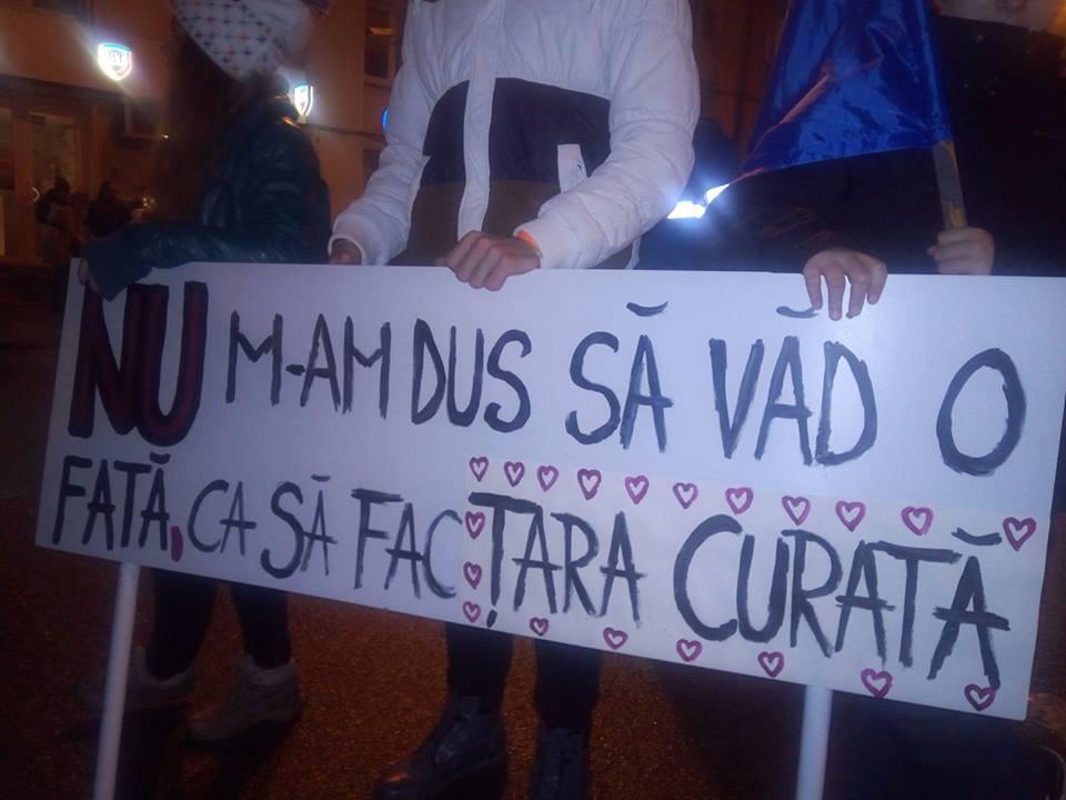 INEDIT – Pancartele de la proteste vor face parte dintr-o colectie de arta contemporana la Muzeul National de Istorie a Transilvaniei