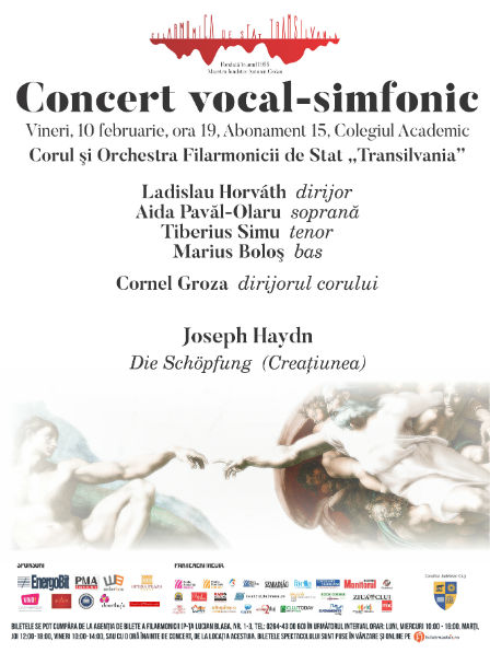 Concert vocal-simfonic sub bagheta dirijorului Ladislau Horváth