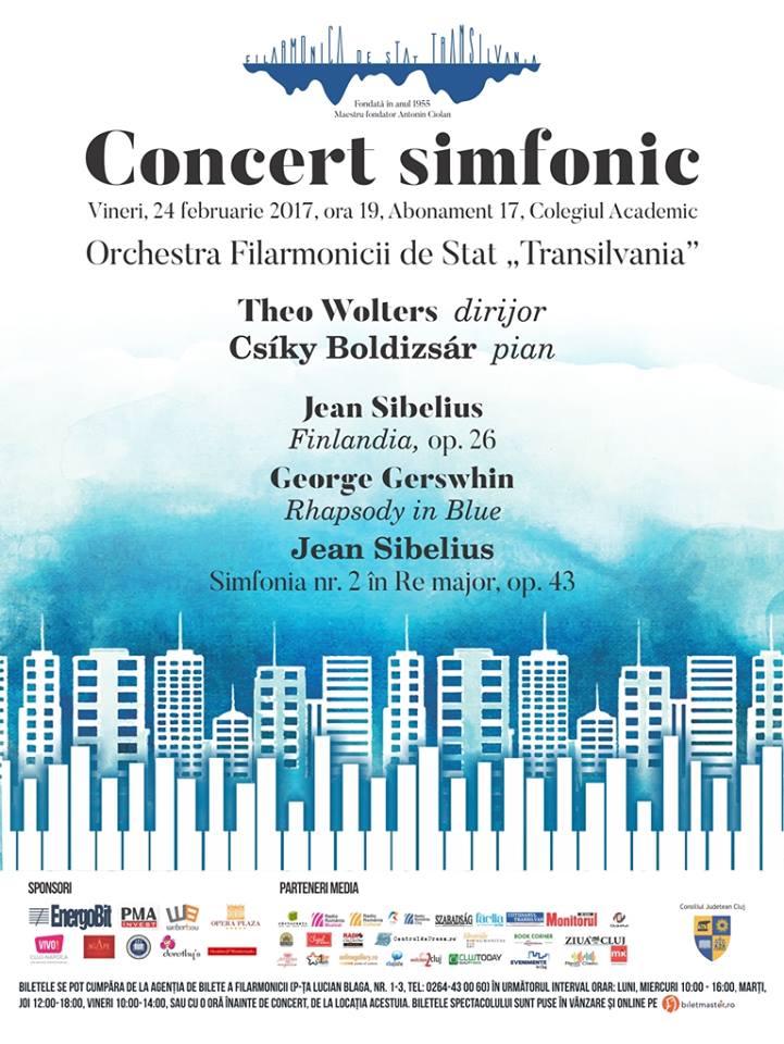 Concert simfonic sub bagheta dirijorului Theo Wolters