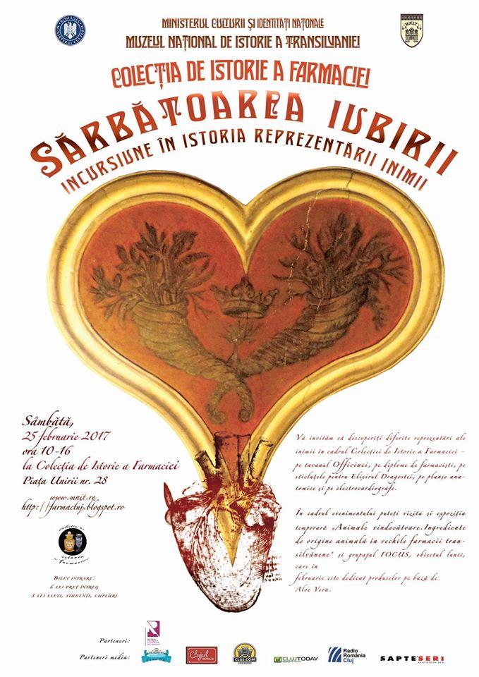 Sărbătoarea iubirii la Muzeul Farmaciei din Cluj-Napoca