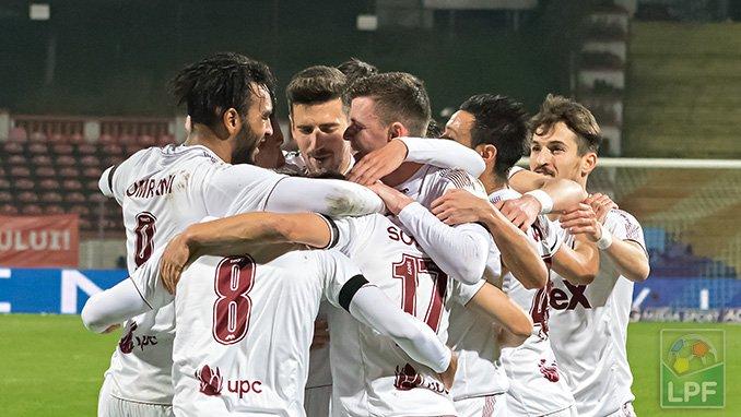 Prima victorie în play-off pentru CFR Cluj, 3-2 cu campioana Astra Giurgiu! 6000 de spectatori în Gruia