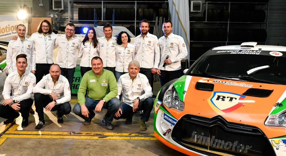 Gata de START: Napoca Rally Academy și-a prezentat echipajele pentru noul sezon de raliuri!