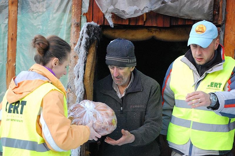 Campania Umanitară de Paşti 2017 CERT Transilvania la VIVO! Cluj-Napoca