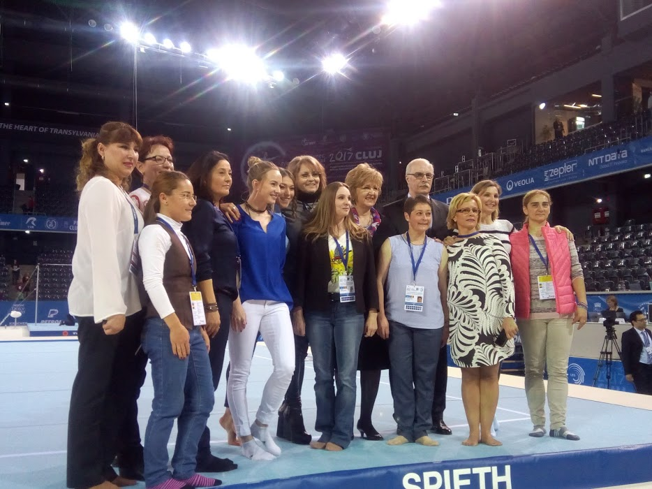 Moment istoric – Pleiadă de foste campioane din gimnastica românească la Cluj-Napoca – FOTO