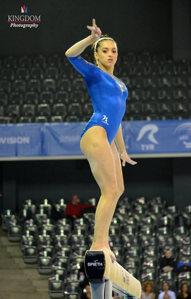 Cătălina Ponor și Larisa Iordache, calificate în finala la bârnă de la Europenele de Gimnastică din Cluj! Ponor a ratat finala de la sol după revizuirea notelor