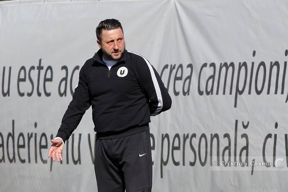 Antrenorul Marius Popescu îi cheamă pe fanii Universității Cluj la primul meci din Liga a 4-a în nocturna de pe Cluj Arena