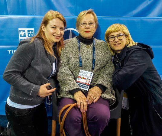 Clujeanca Sonia Iovan, invitată de onoare a Campionatelor Europene de Gimnastică!