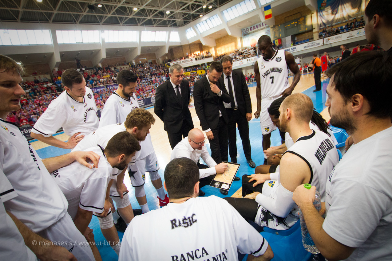 """U-BT Cluj joacă meciul 5 al semifinalei cu CSM Oradea cu """"casa închisă"""""""