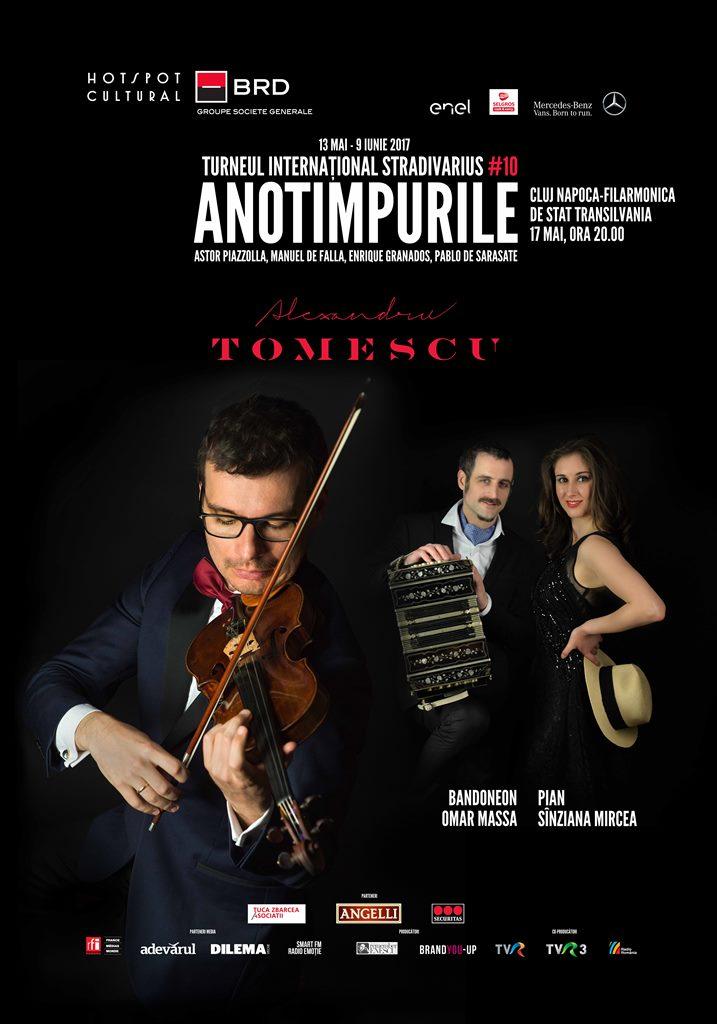 Turneul Internațional Stradivarius ajunge la Cluj, în 17mai!