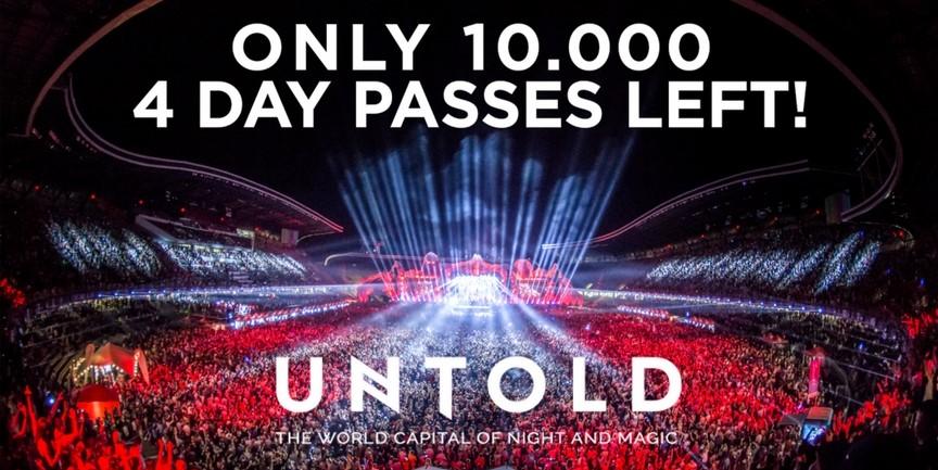 Ultimele 10.000 de abonamente disponibile la UNTOLD Festival 2017!