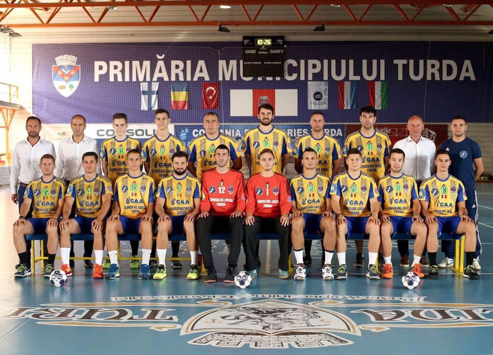 Potaissa Turda a câştigat trofeul Challenge Cup la handbal masculin!