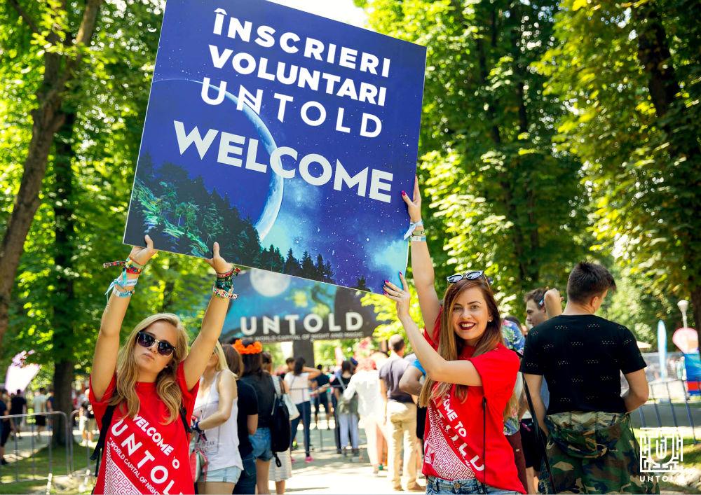 Au început înscrierile pentru voluntari la NEVERSEA și UNTOLD! Fii parte din echipa celor două festivaluri!