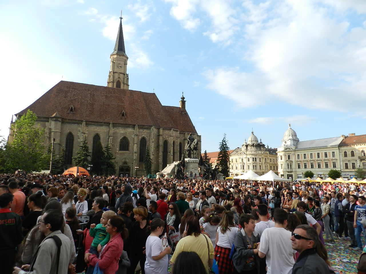 Zilele Clujului încep astăzi cu o serie de restricţii de circulaţie în zona centrală!