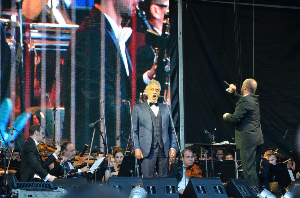 Seară magică pe Cluj Arena alături de Andrea Bocelli, Alessandro Safina și Gheorghe Zamfir – FOTO/VIDEO