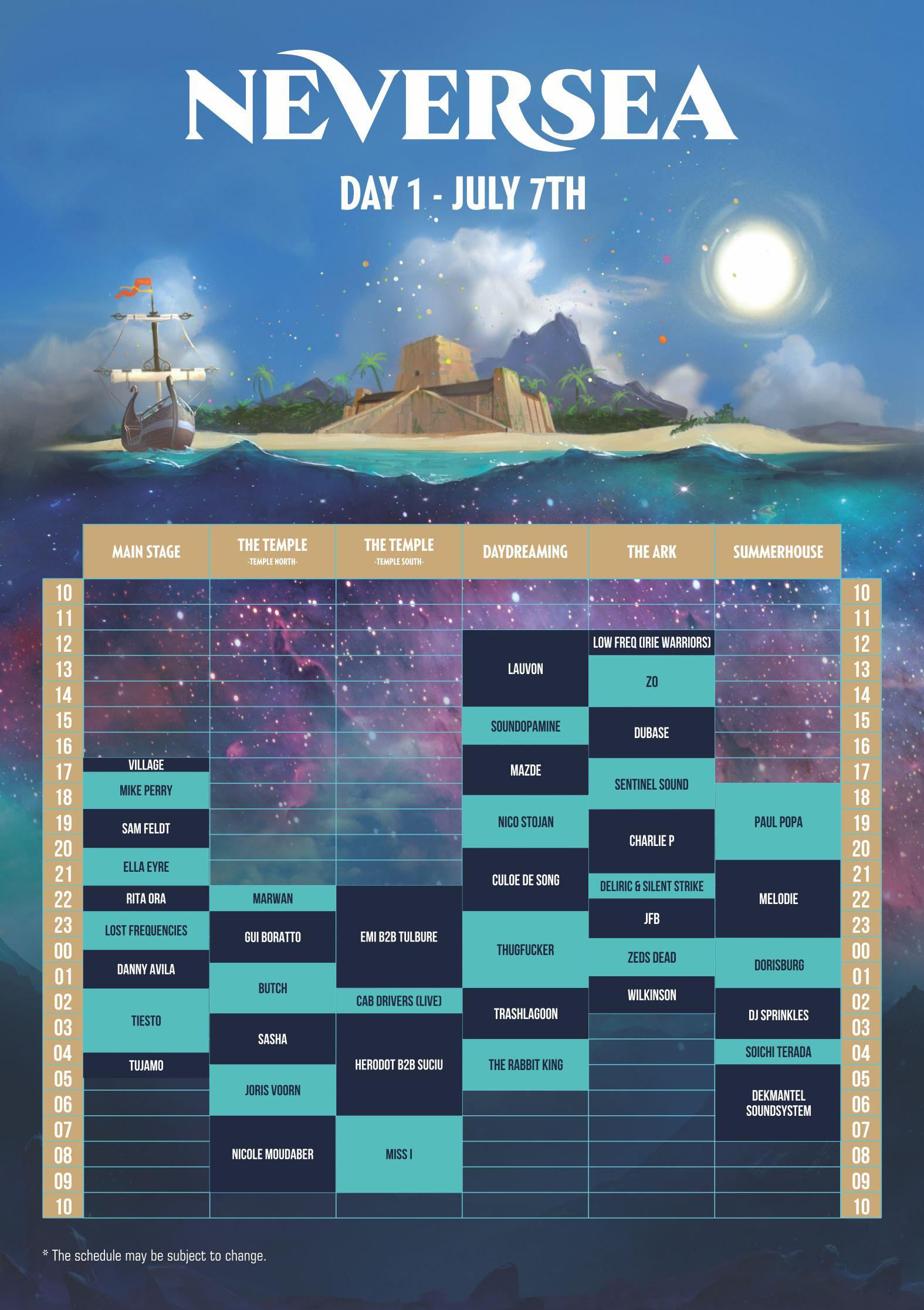 Mai sunt doar două săptămâni până la cel mai așteptat festival de pe plajă din România – NEVERSEA! Cum arată programul pe zile