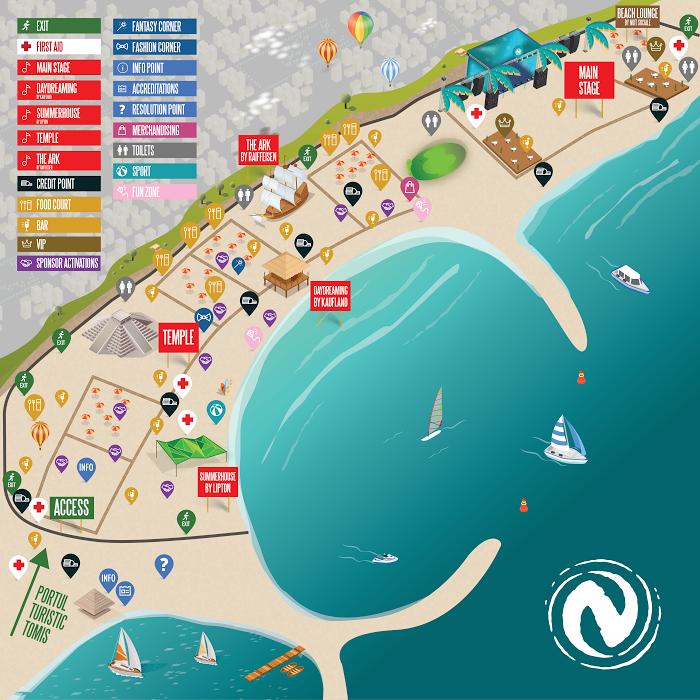 Ce trebuie să știi dacă vii în acest weekend pe litoral pentru NEVERSEA? Citește îndrumătorul de festival!