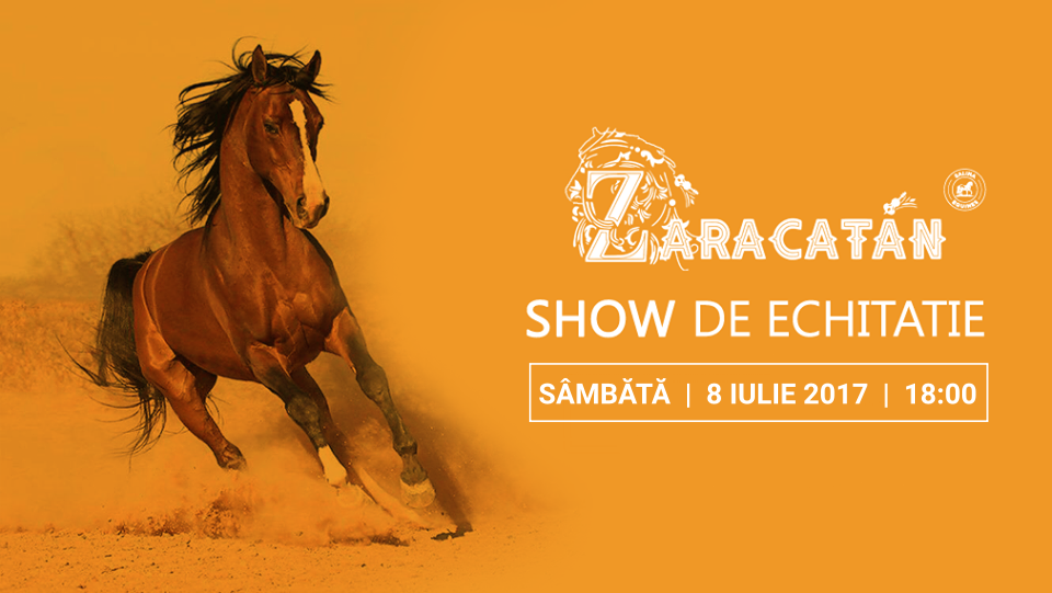 O nouă reprezentație pe strada Zaracatan la Salina Equines: cel mai frumos show de echitație din România se joacă din nou în weekend!