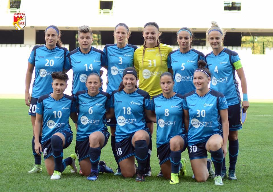 Olimpia Cluj, al doilea succes în UEFA Women's Champions League!