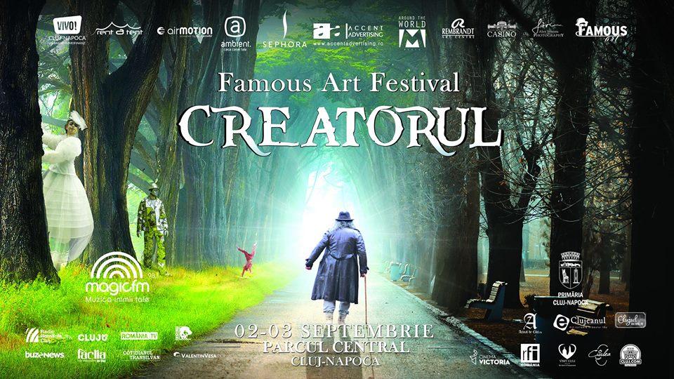 """Lucrările de refacere a Parcului Central amână Festivalul Famous Art """"Creatorul"""""""