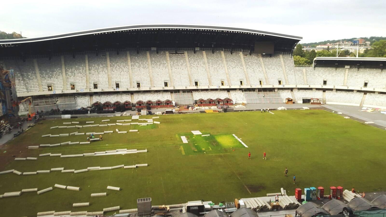 Cum arata gazonul de pe Cluj Arena dupa editia a 3-a a festivalului UNTOLD?