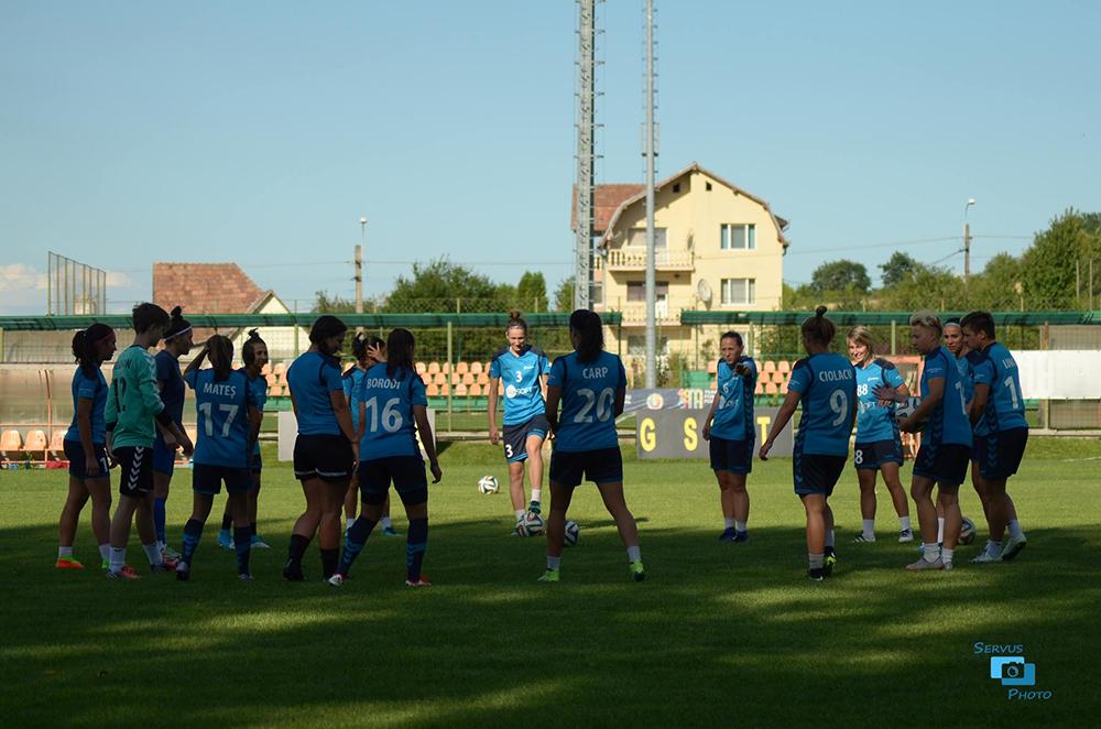 Campioanele de la Olimpia Cluj, pregătite de Champions League! Vezi programul meciurilor! INTRAREA VA FI LIBERĂ