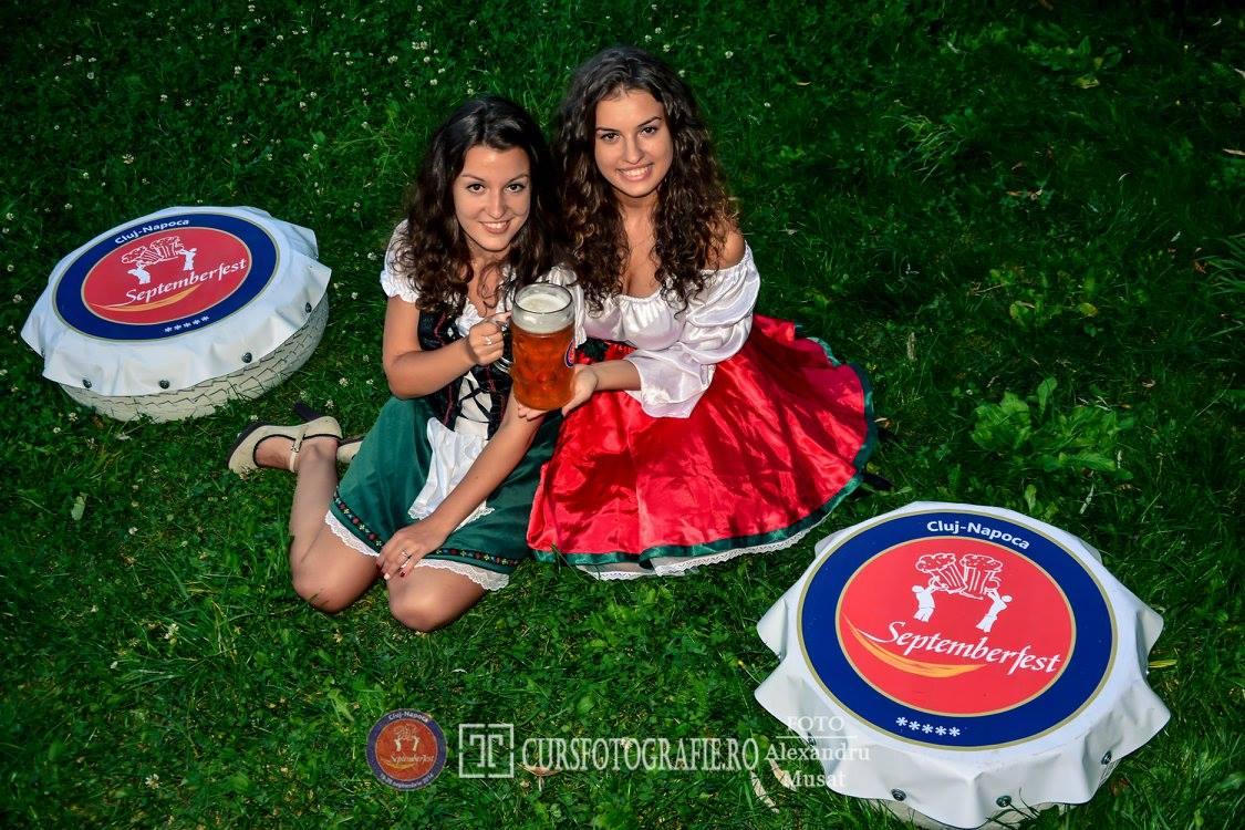 O nouă ediție a festivalului de tradiție al Clujului, Septemberfest, începe vineri, pe platoul Sălii Sporturilor! Vedeta weekend-ului va fi BEREA!